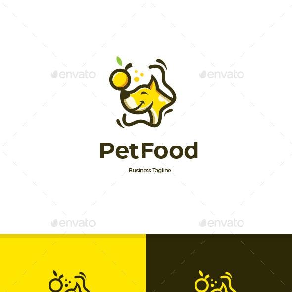 Pet Food Logo Template
