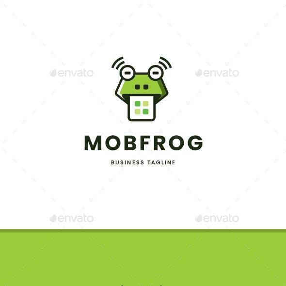 Mobile Frog Logo Template