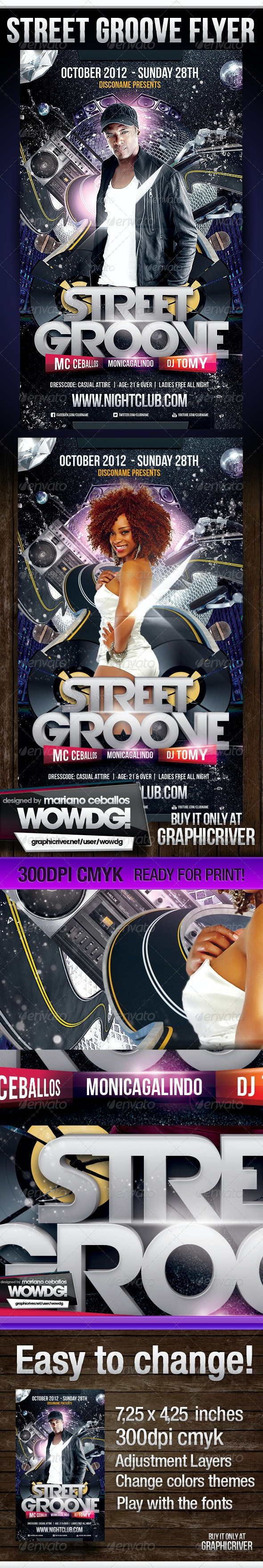 Street Grooves - Clubs & Parties Events
