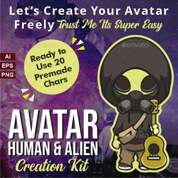 Avatar Human & Alien Creation Kit