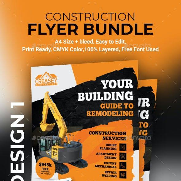 Construction Flyer Bundle