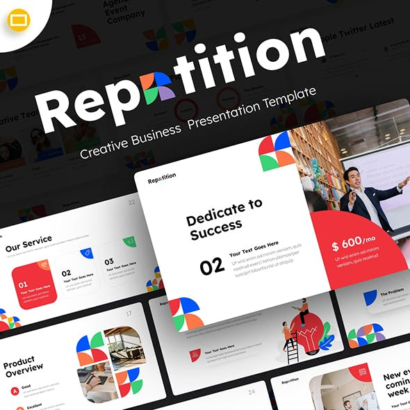 Repetition Creative Business Google Slide Template