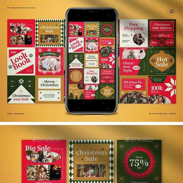 Christmas Sale Instagram Pack