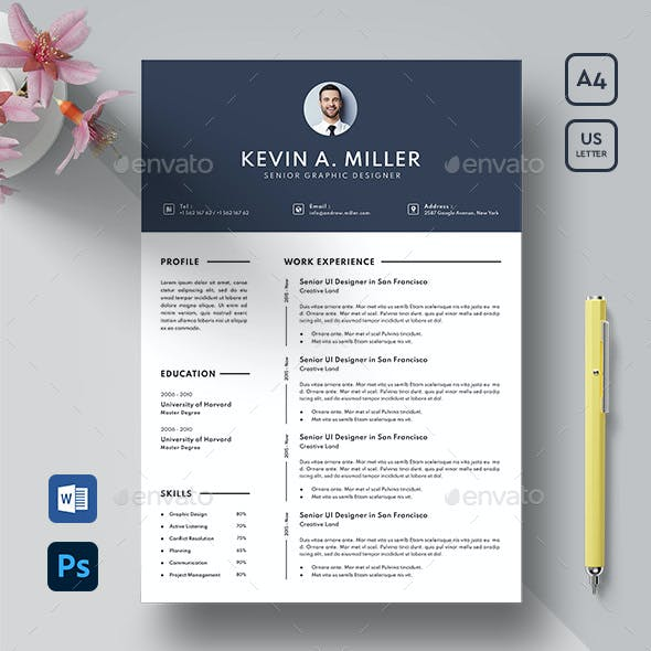 Resume Template 02 Pages
