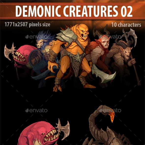Demonic Creatures 02