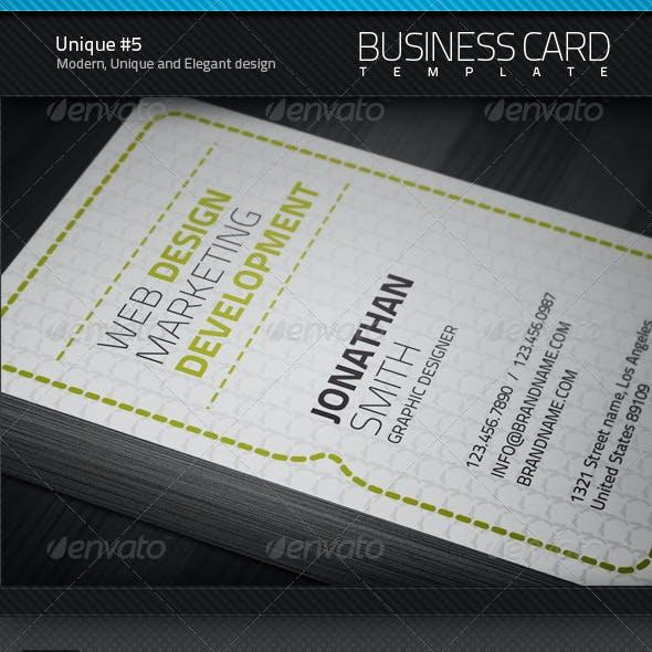 Unique Business Card #5