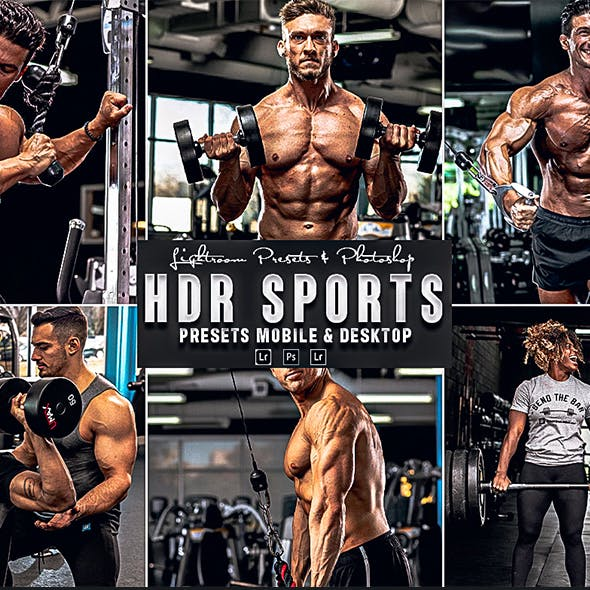 HDR Sports Photoshop Action & Lightrom Presets