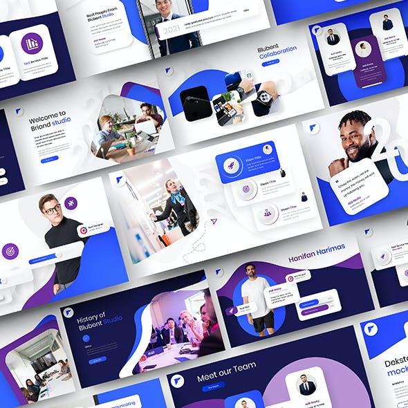 Blubent – Business PowerPoint Template
