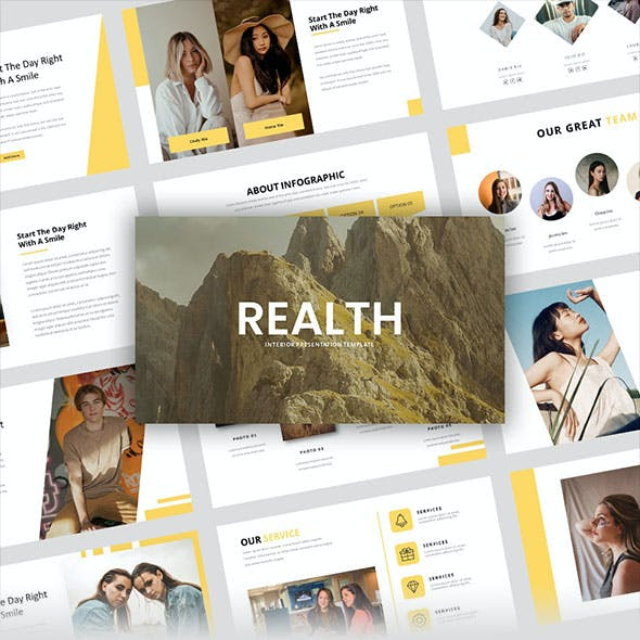 Realth – Creative Business Keynote Template