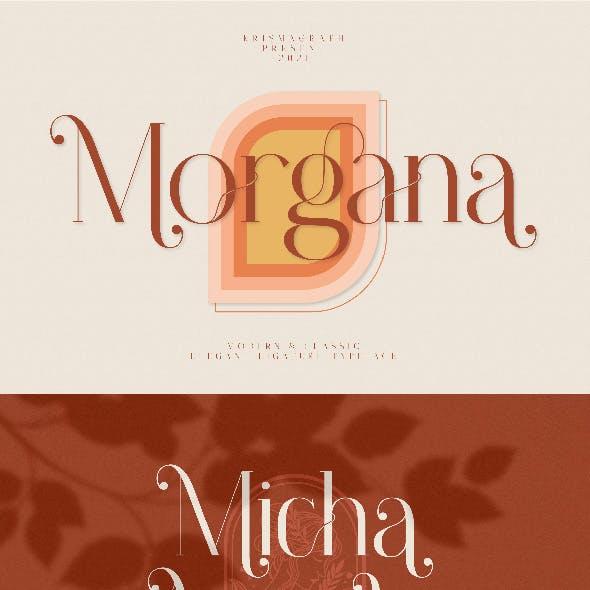 Morgana | Elegant Ligature Typeface