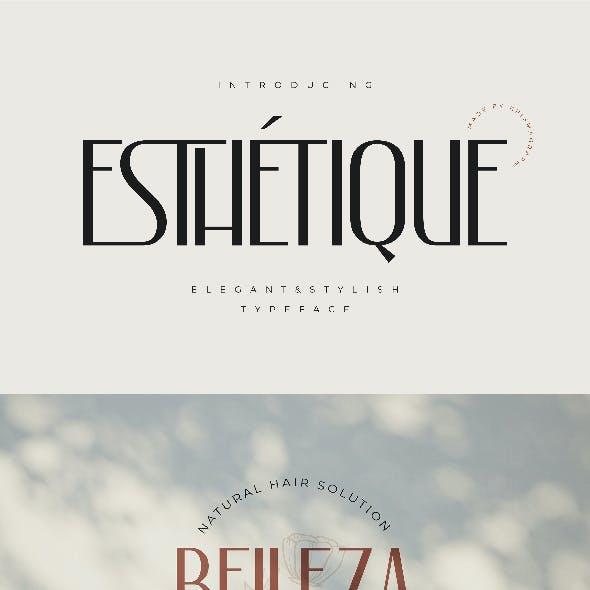 Eshetique | Elegant & Stylish Typeface