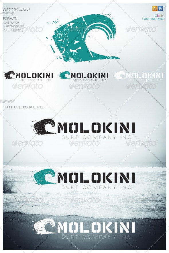 Surf Industry 01 - Nature Logo Templates