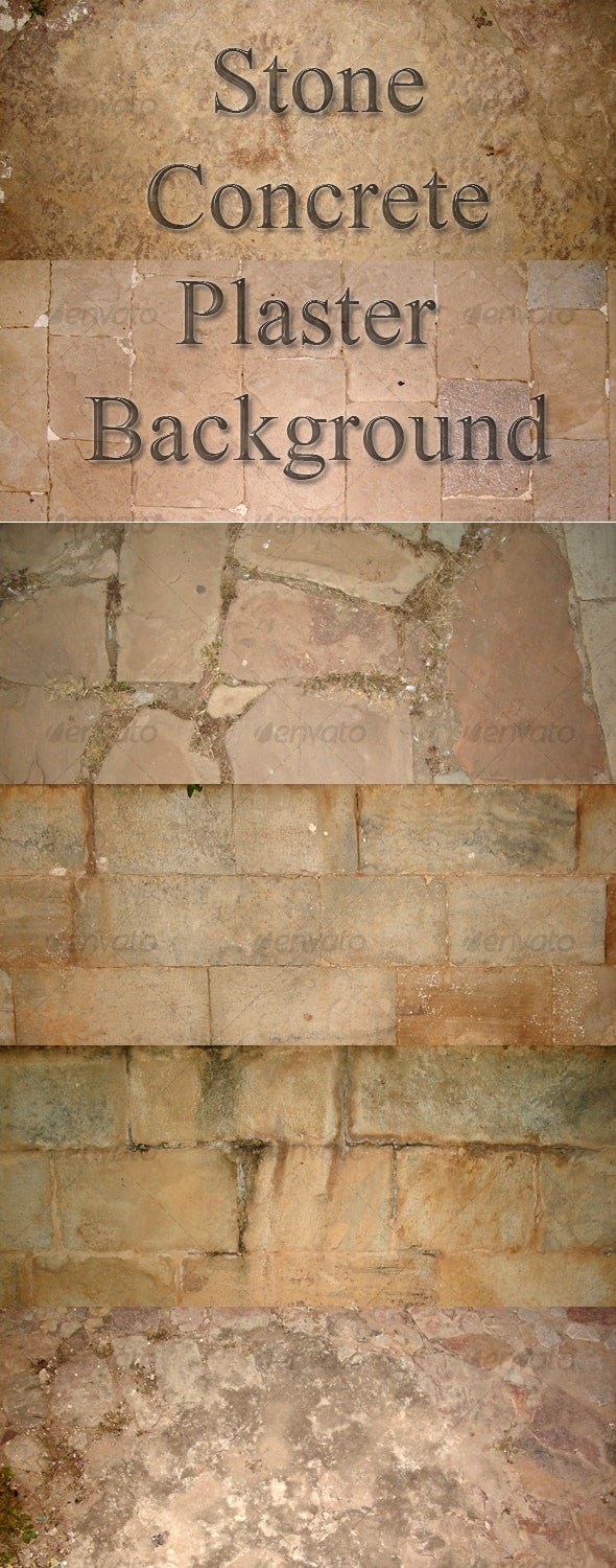 11 Stone Concrete Plaster Background - Stone Textures