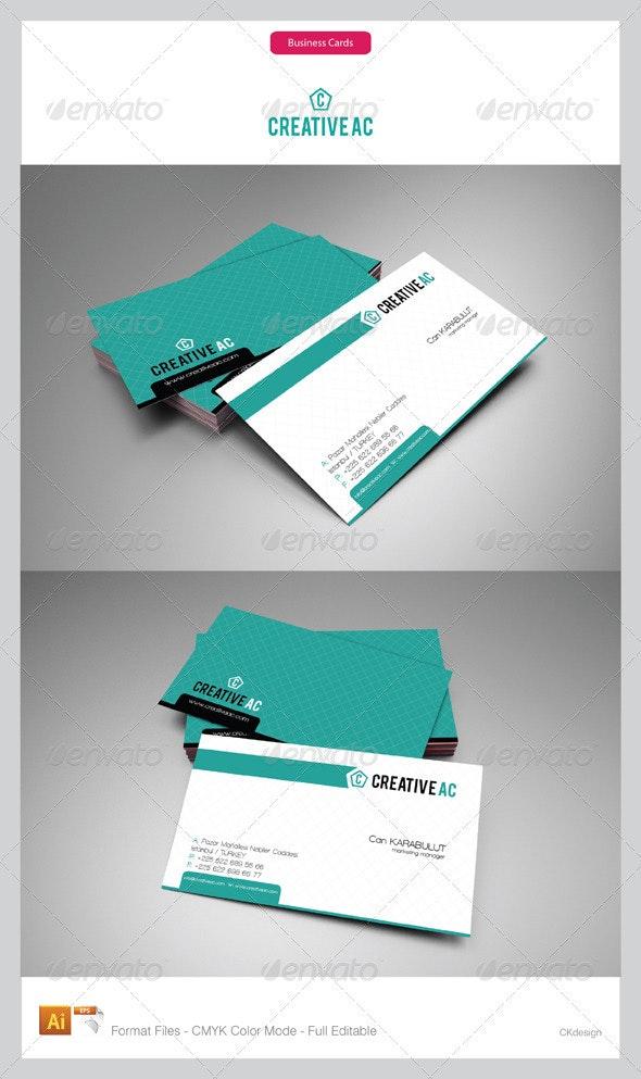 Corporate Business Cards 64-7 - Corporate Business Cards