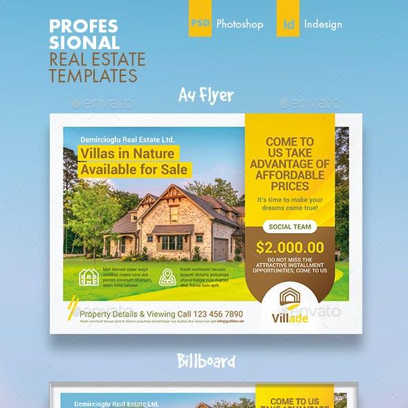 Real Estate Bundle Templates