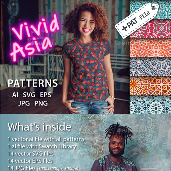 Vivid Asia Patterns