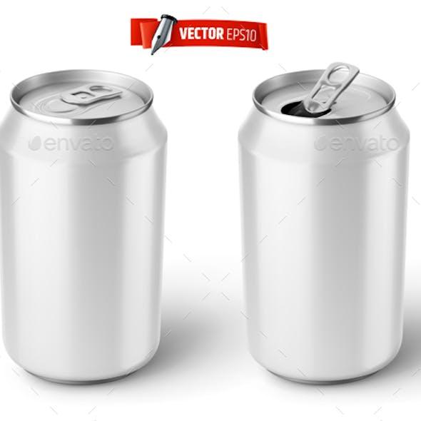Vector Realistic Soda Cans