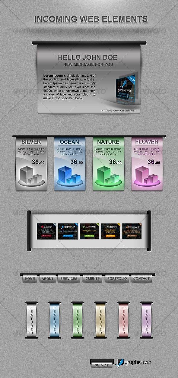 Incoming Pack - Web Elements  - Web Elements