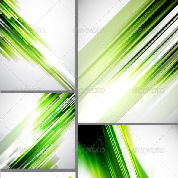 Shine Green Lines Backgrounds