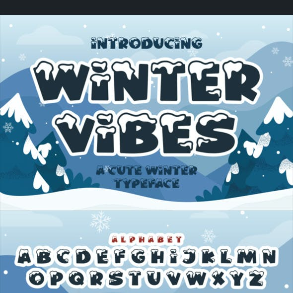 Winter Vibes Font