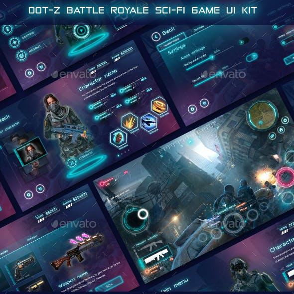 Dot-Z MMORPG Game UI KIT