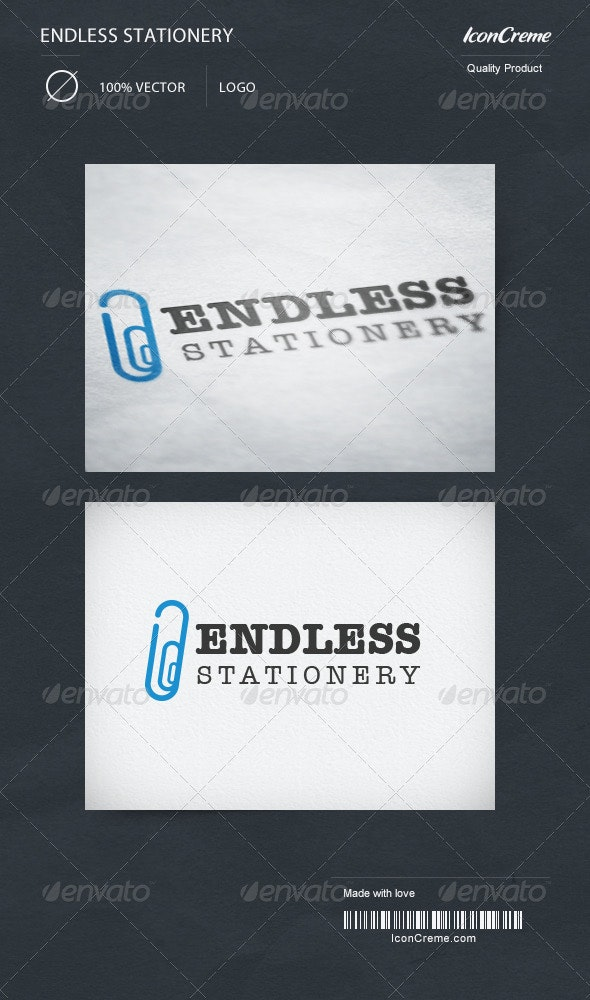 Endless Stationery Logo - Objects Logo Templates