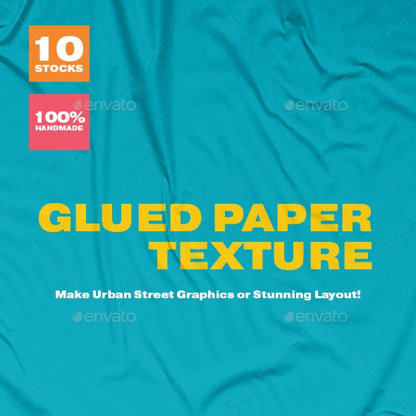 Glued Paper Texture Vol 01 by sayhellonan