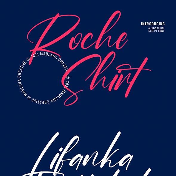 Roche Shirt Script Font