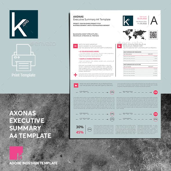 Axonas Executive Summary A4 Template