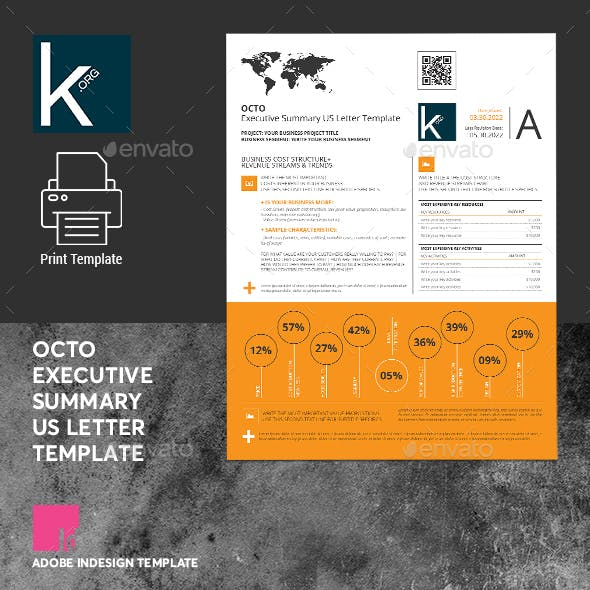 Octo Executive Summary US Letter Template