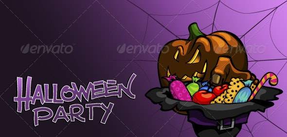 Halloween_party_flyer - Halloween Seasons/Holidays