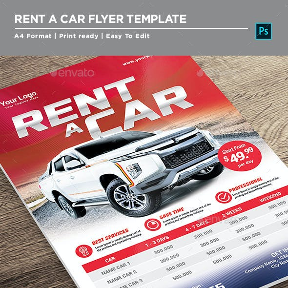Main File Rent Car Flyer