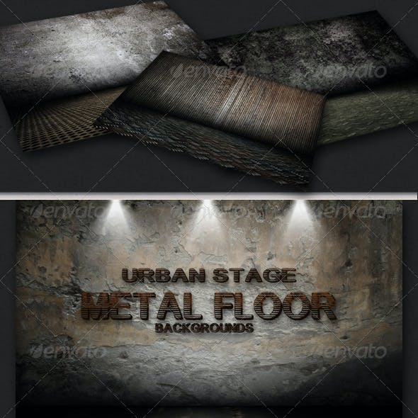 Urban Stage - Metal Floor Set