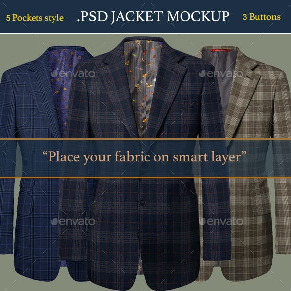 Jacket Mockup