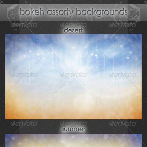 Bokeh Assorty Backgrounds