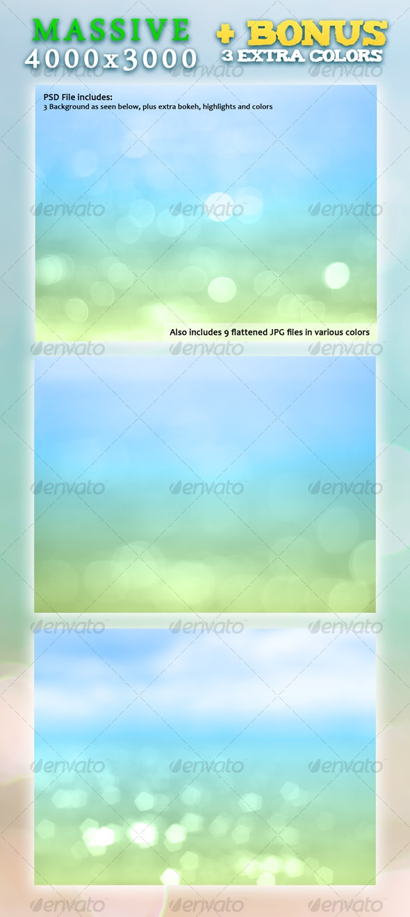 Tropical Paradise - Backgrounds Graphics