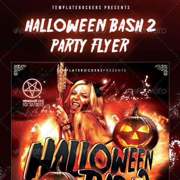 Halloween Bash 2 Party Flyer - 3 Sizes