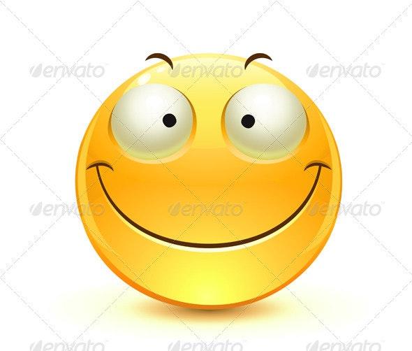Single Emoticon - Characters Vectors