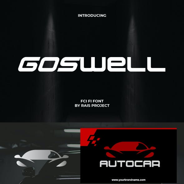 Goswell Sport Font