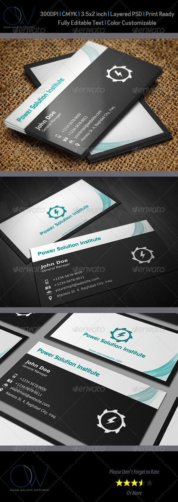 Classic Business Card Vol. 2 - Corporate Business Cards