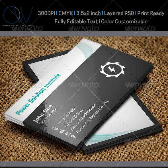 Company Profile Business Card Templates Designs Page 6