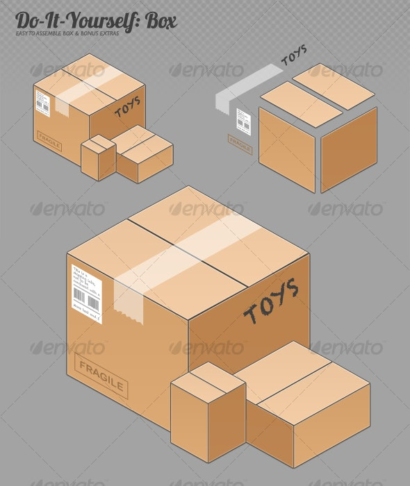 Do-It-Yourself Box - Miscellaneous Graphics