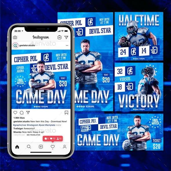 Football Social Media Pack