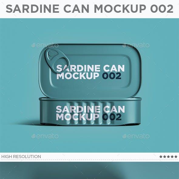 Sardine Can Mockup 002