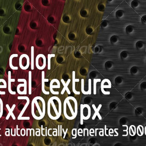 5 in 1 color Pit Metal Texture + Action