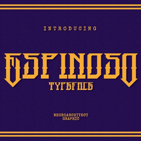 Espinoso Typeface