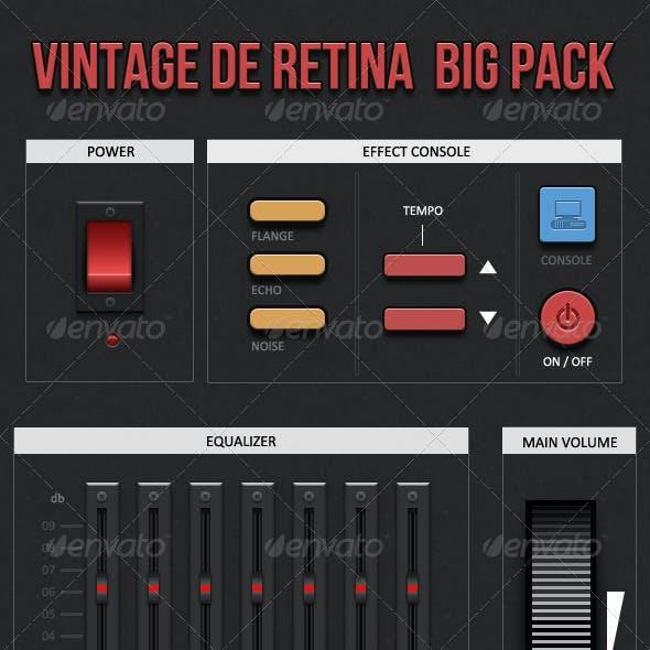 Retina Vintage Ui Kit