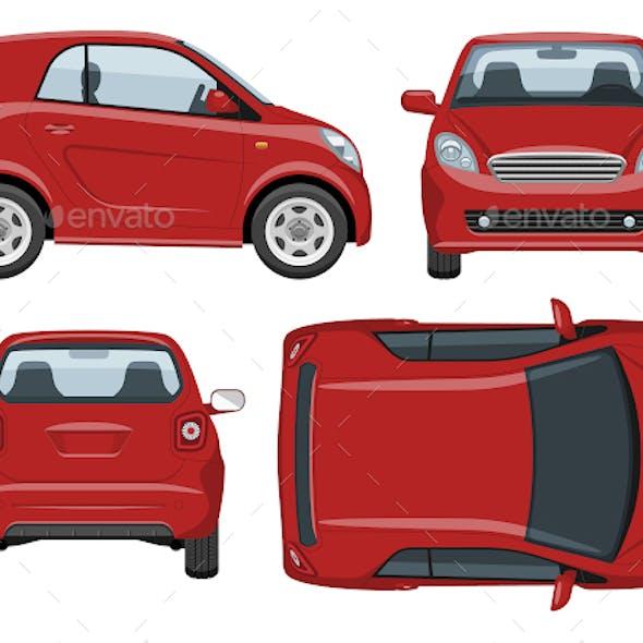 Mini Car Template