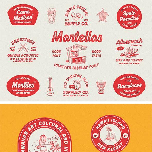 Martellas - Display Font