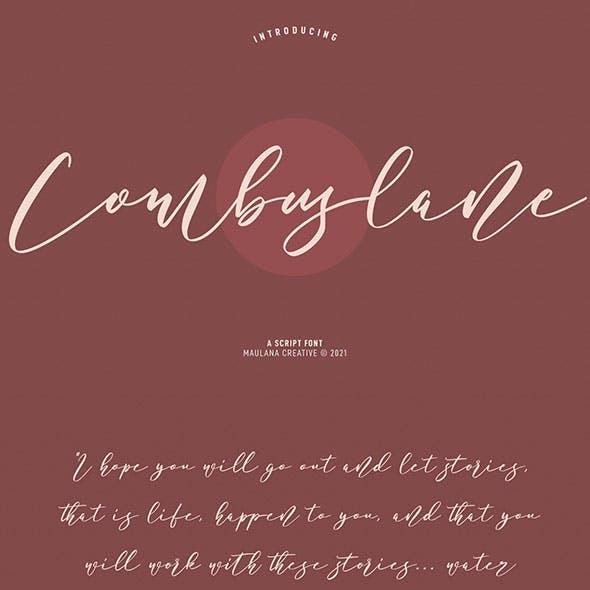 Combuslane Script Font